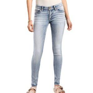BKE Stella Slim-Fit Mid Rise Skinny Jeans